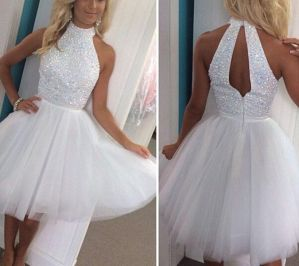 Most cute short white dresses outfits design ideas 39