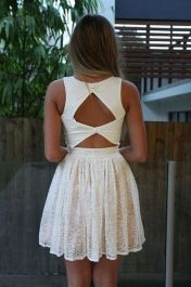 Most cute short white dresses outfits design ideas 41