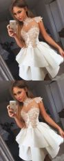 Most cute short white dresses outfits design ideas 98