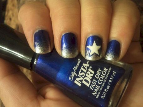 Seahawks nails design 09