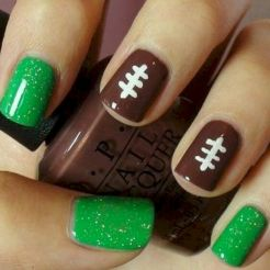 Seahawks nails design 15