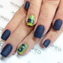 Seahawks nails design 18