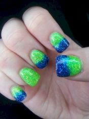 Seahawks nails design 27