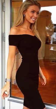 Sexy little black dress that must you have 15