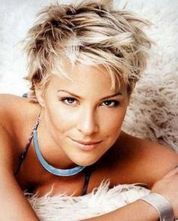 Short messy pixie haircut hairstyle ideas 13