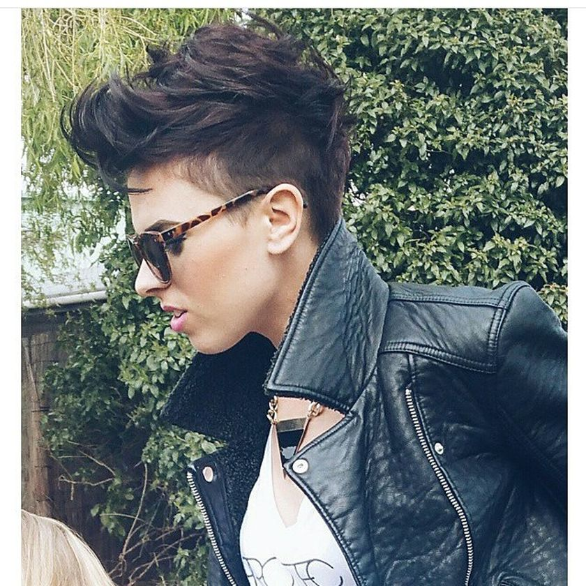 Short messy pixie haircut hairstyle ideas 47