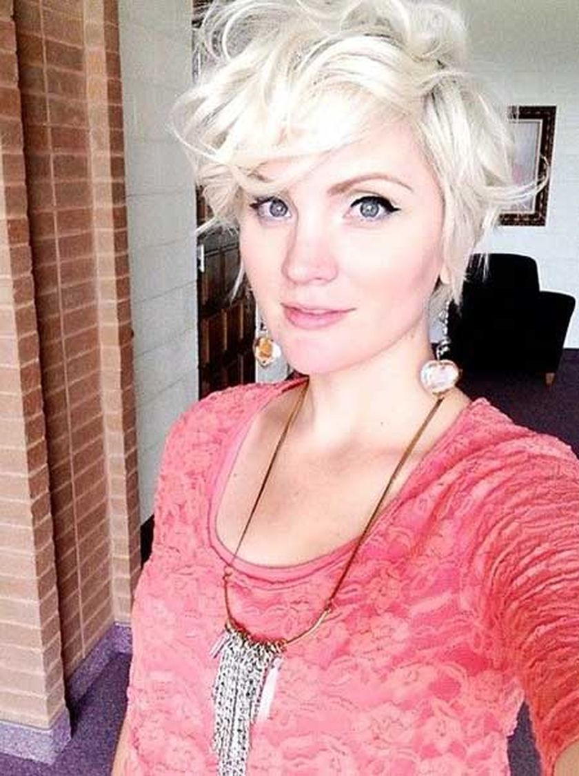 Short messy pixie haircut hairstyle ideas 5