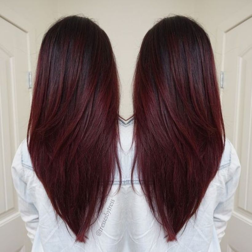 Stunning fall hair colors ideas for brunettes 2017 24