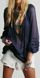 Stylish bohemian boho chic outfits style ideas 121