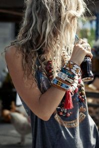 Stylish bohemian boho chic outfits style ideas 25