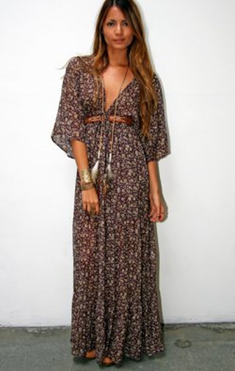 Stylish bohemian boho chic outfits style ideas 47
