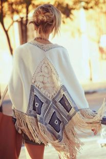 Stylish bohemian boho chic outfits style ideas 56