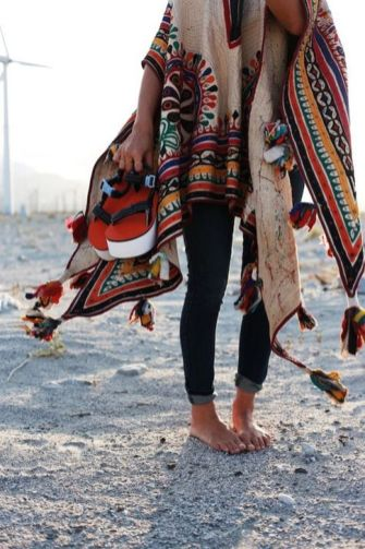Stylish bohemian boho chic outfits style ideas 7