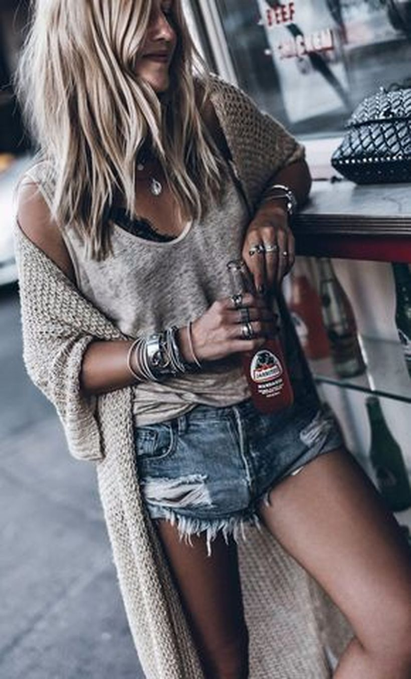 Stylish bohemian boho chic outfits style ideas 78