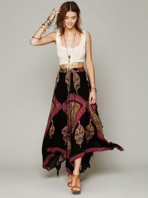 Stylish bohemian boho chic outfits style ideas 94