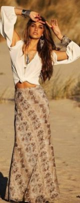 Stylish bohemian boho chic outfits style ideas 96