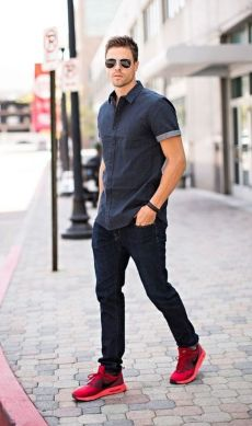 Stylish men's jeans outfits ideas in 2017 7