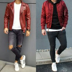 Stylish men's jeans outfits ideas in 2017 80