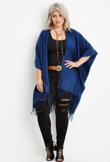 Stylish plus size outfits for winter 2017 108