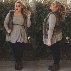 Stylish plus size outfits for winter 2017 117