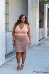 Stylish plus size outfits for winter 2017 118