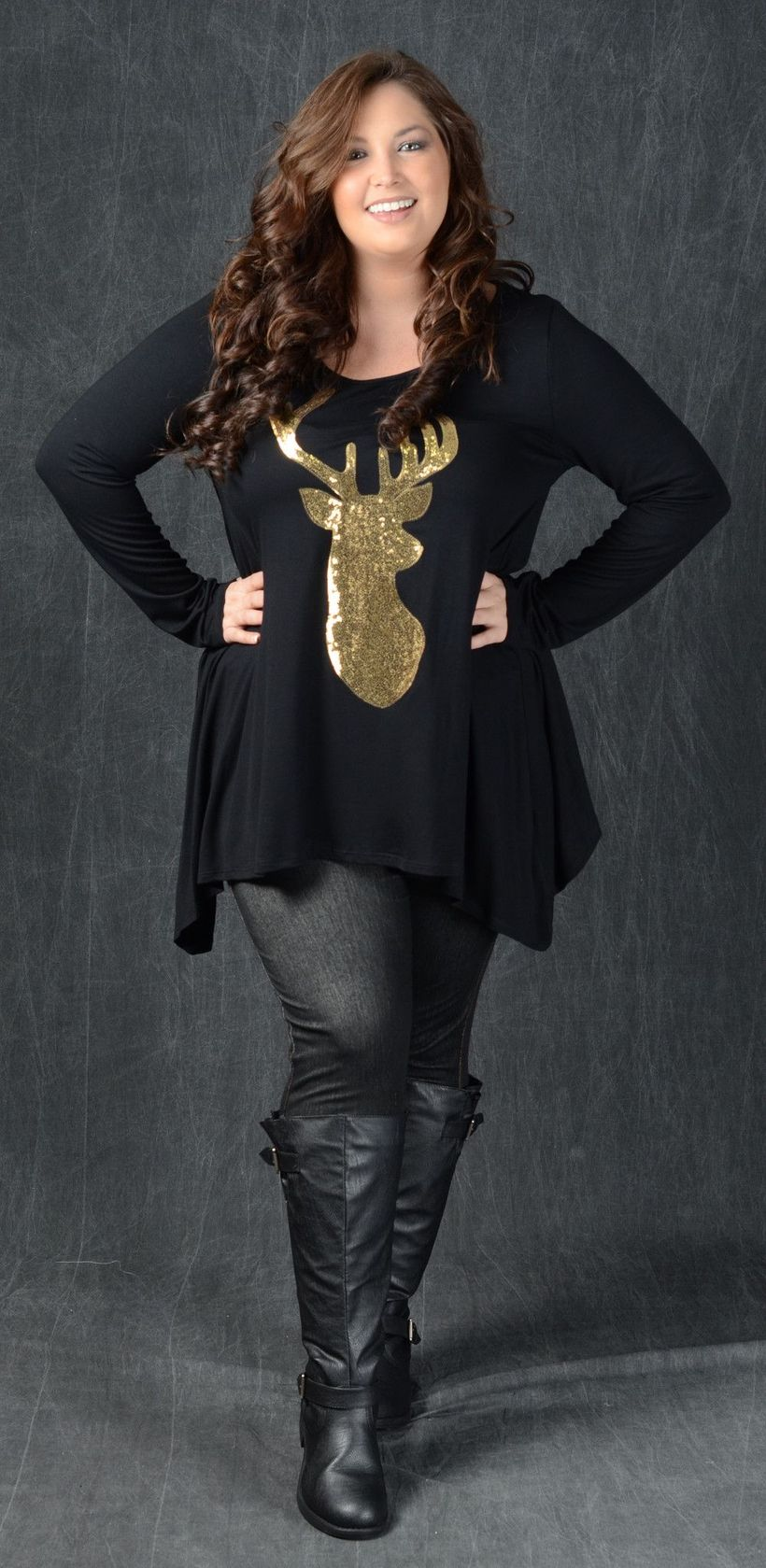 Stylish plus size outfits for winter 2017 119