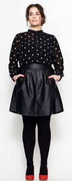 Stylish plus size outfits for winter 2017 128