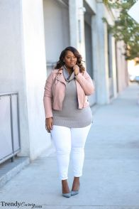 Stylish plus size outfits for winter 2017 132