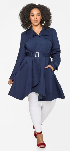 Stylish plus size outfits for winter 2017 21