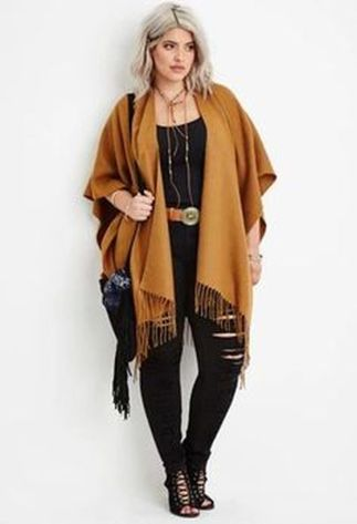 Stylish plus size outfits for winter 2017 28
