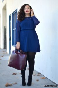 Stylish plus size outfits for winter 2017 32