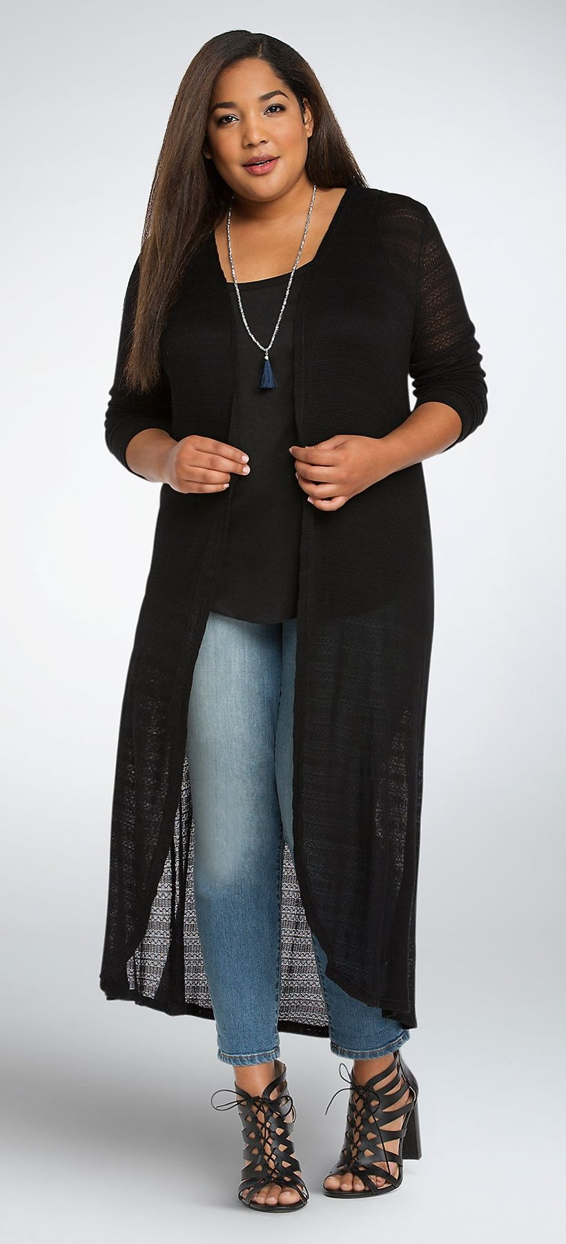 Stylish plus size outfits for winter 2017 46