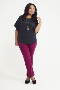 Stylish plus size outfits for winter 2017 47