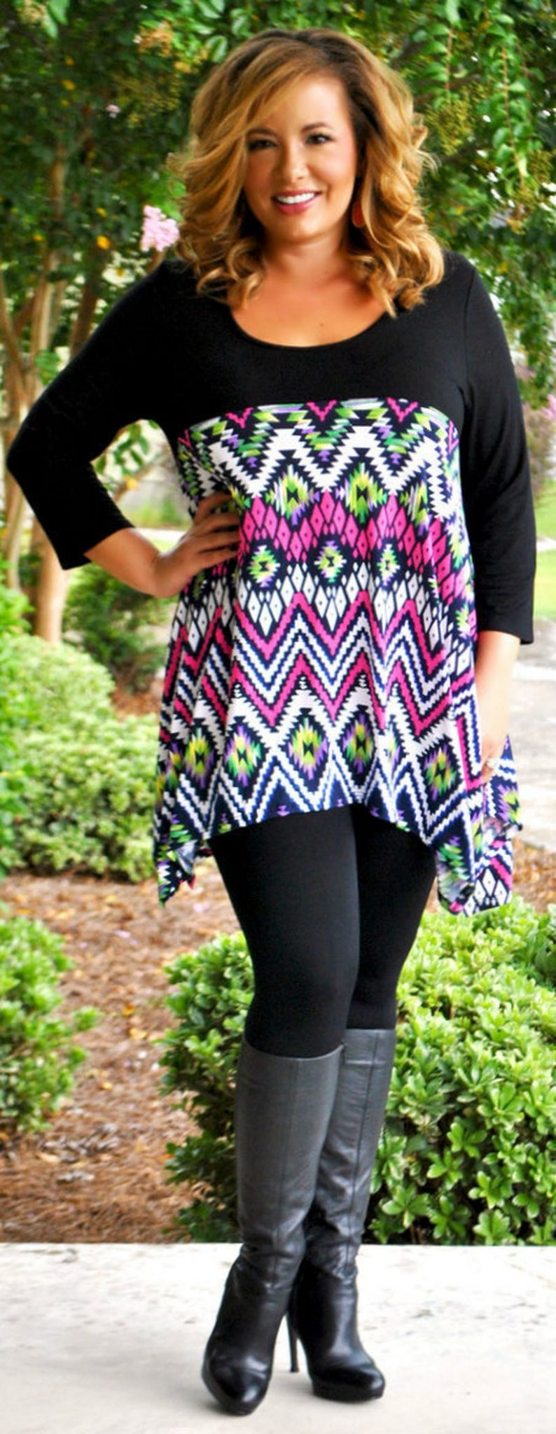 Stylish plus size outfits for winter 2017 49
