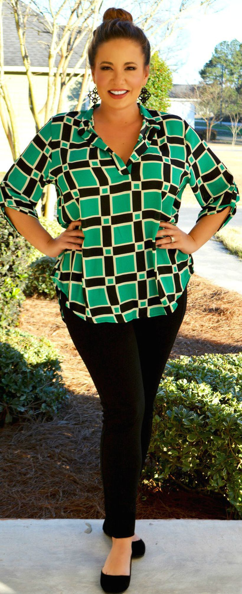 Stylish plus size outfits for winter 2017 52