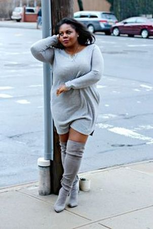 Stylish plus size outfits for winter 2017 68