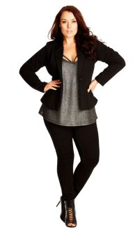 Stylish plus size outfits for winter 2017 78