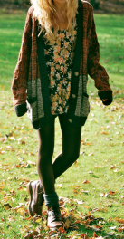 Tips how to wear cardigans and leggings in this fall 45
