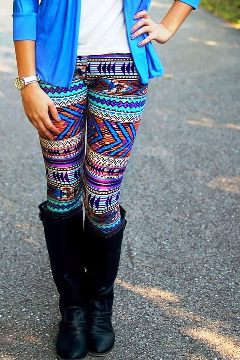 Tips how to wear cardigans and leggings in this fall 52