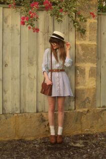 Vintage chic fashion outfits ideas 24