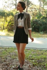 Vintage chic fashion outfits ideas 3