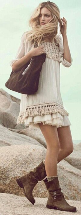 Vintage chic fashion outfits ideas 48