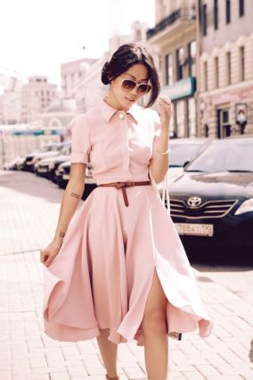 Vintage chic fashion outfits ideas 53
