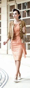 Vintage chic fashion outfits ideas 62
