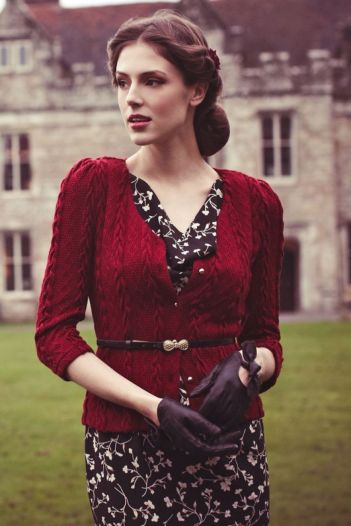 Vintage chic fashion outfits ideas 74