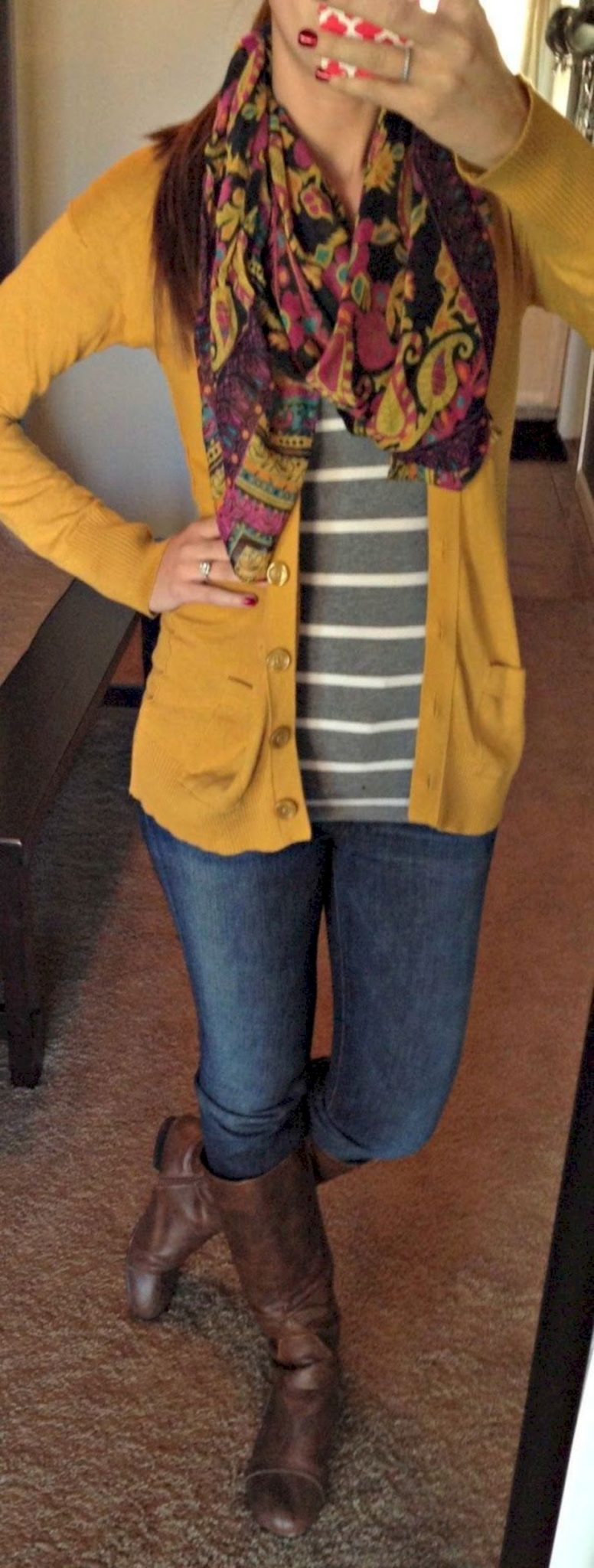 Cardigan outfit 47