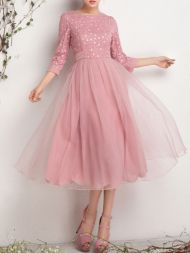 Formal midi dresses outfits 03