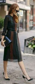 Formal midi dresses outfits 11