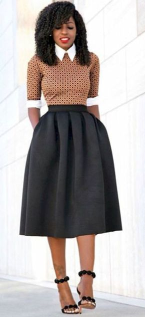Formal midi dresses outfits 12