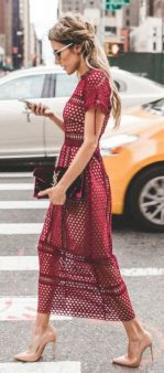 Formal midi dresses outfits 45